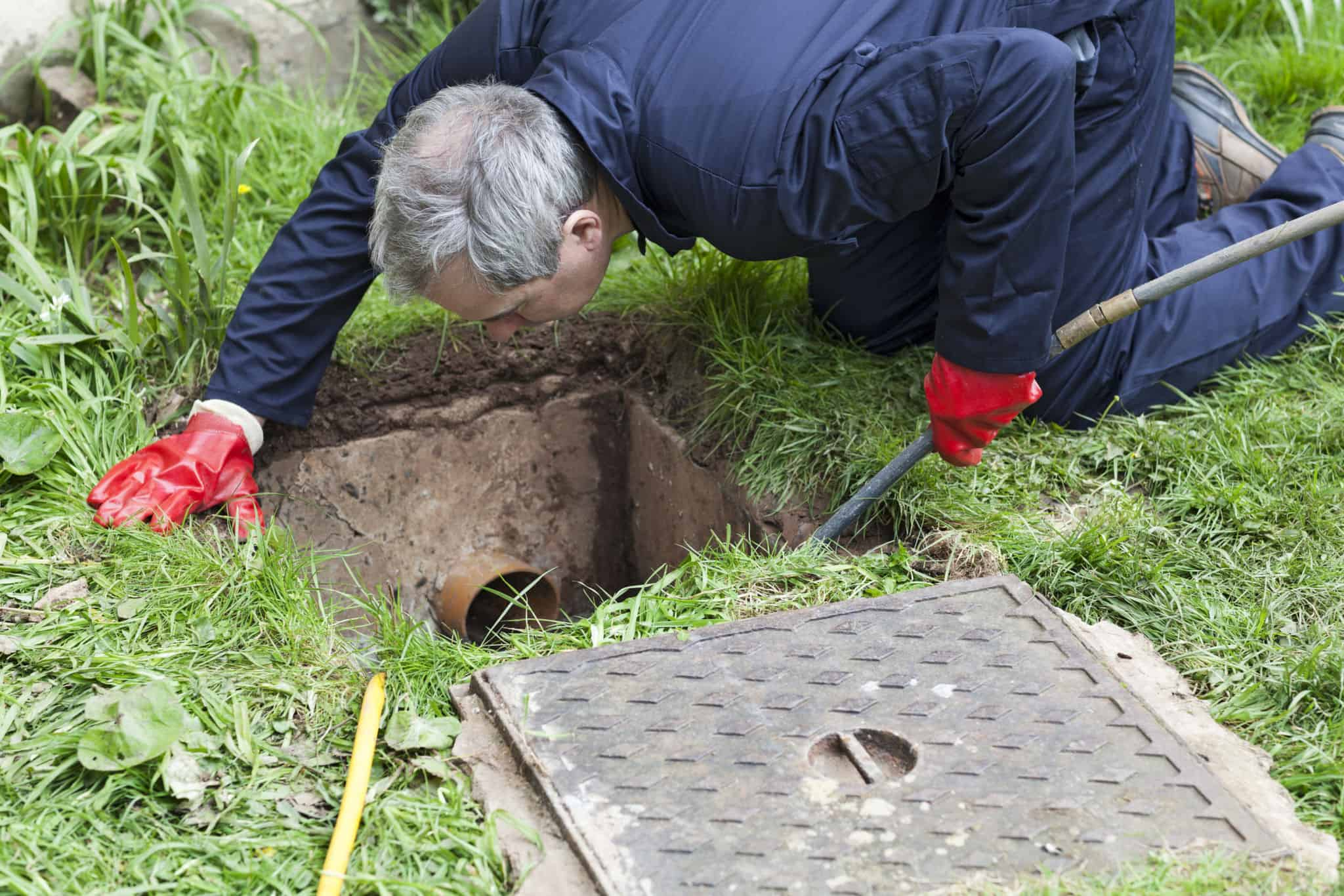 blocked drains in Sussex