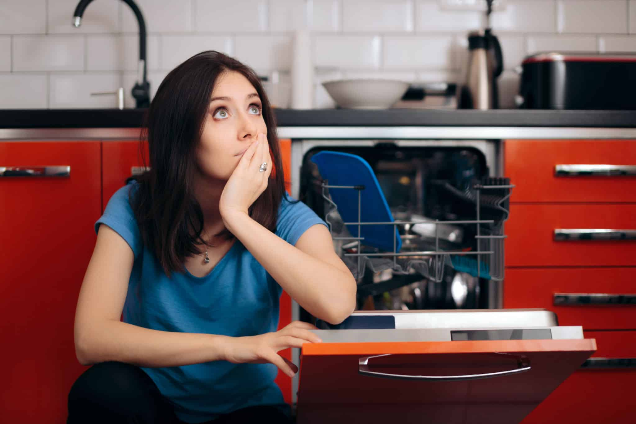 My Dishwasher not draining